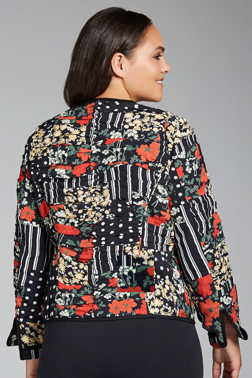 Sara Boxy Statement Jacket