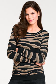 Heine Jacquard Sweater