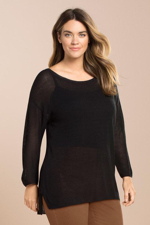 Plus Size - Sara Tunic Sweater