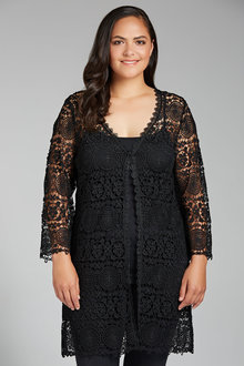 Plus Size - Sara Lace Jacket