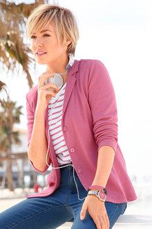 Capture European Knit Jacket