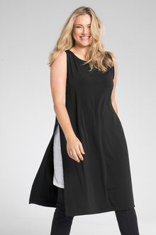 Plus Size - Sara Double Slip Dress