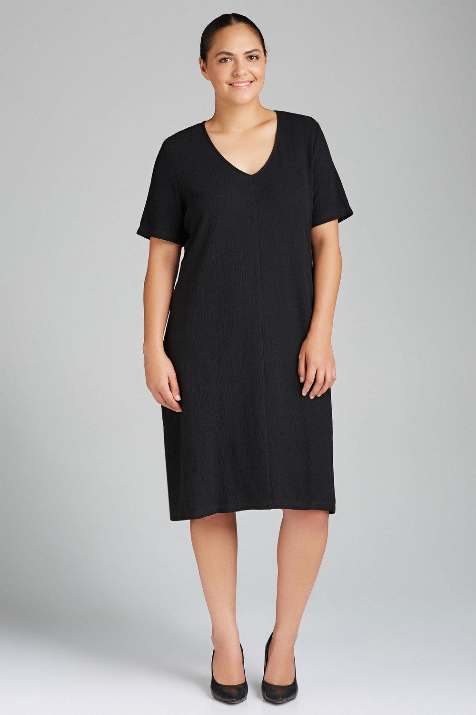 c700155d746 Plus Size - Sara Knit Bow Tie Dress