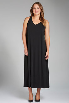 Plus Size - Sara Lace Back Maxi