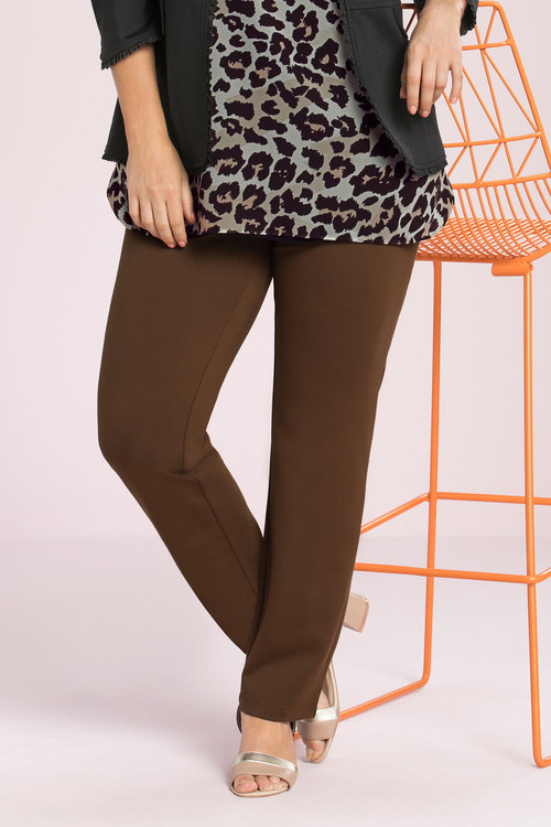 Sara So Slimming Ponte Ankle Pant