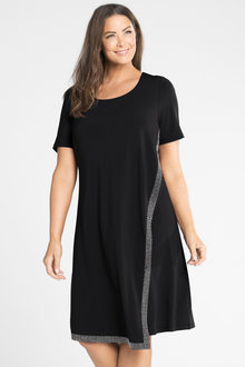 Plus Size - Sara Stud Detail Dress