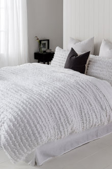 Sophia Textured Duvet Cover Set