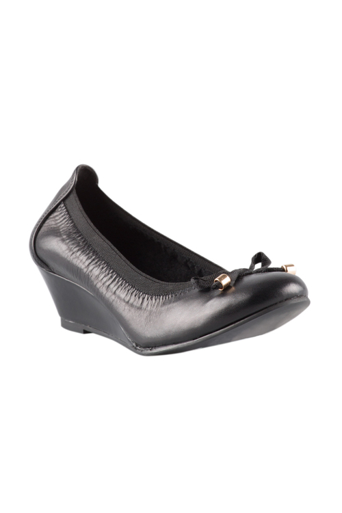 Wide Fit Attica Wedge Court Heel