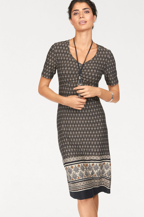 Urban Printed Casual Dress