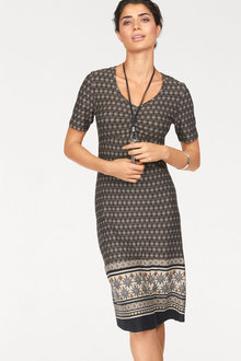 Urban Printed Casual Dress - 189820