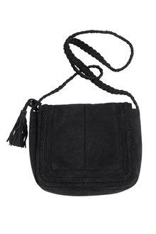 Zoe Suede Crossbody Bag
