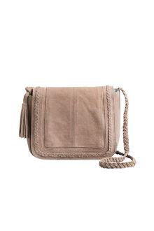 Zoe Suede Crossbody Bag - 189835