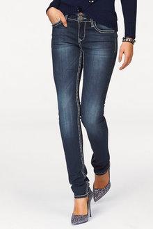 Urban Contrast Stitch Detail Jeans