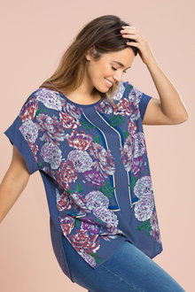 Plus Size - Sara Shell Top