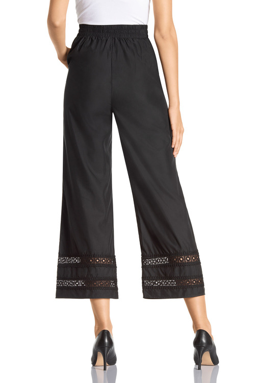 Grace Hill Lace Hem Trim Pant