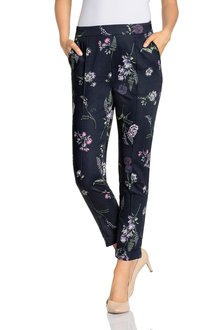 Grace Hill Printed Straight Pant