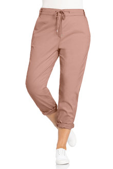 Plus Size - Sara Chino Elastic Back Pant