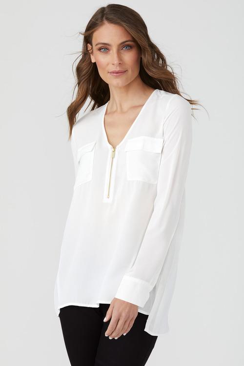 Emerge Zip Front Shirt