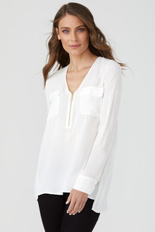 Emerge Zip Front Shirt - 189907