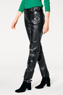 Heine Faux Leather Pants