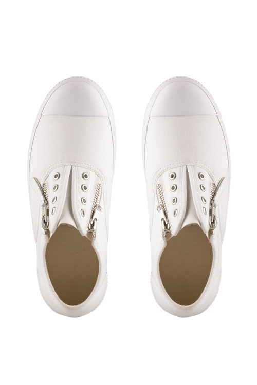 Sara Wide Fit Pull On Zip Sneaker