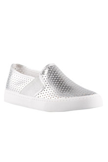 Bohemia Perforated Slip On Sneaker