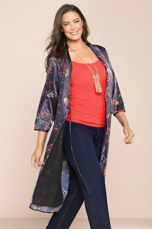 Plus Size - Sara Soft Robe