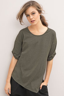 Emerge Asymmetric Tunic Top