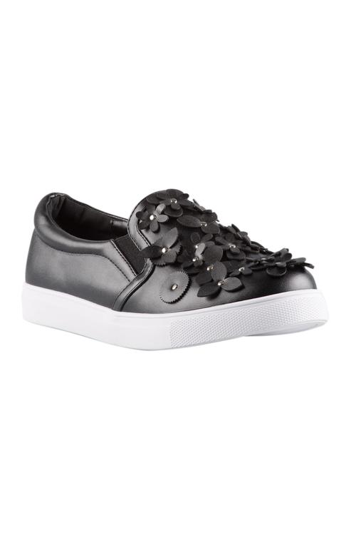 Brunswick Flower Slip On Sneaker