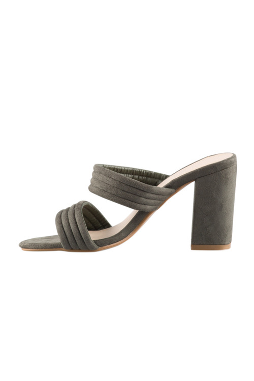 Arcadia Mule Sandal Heel