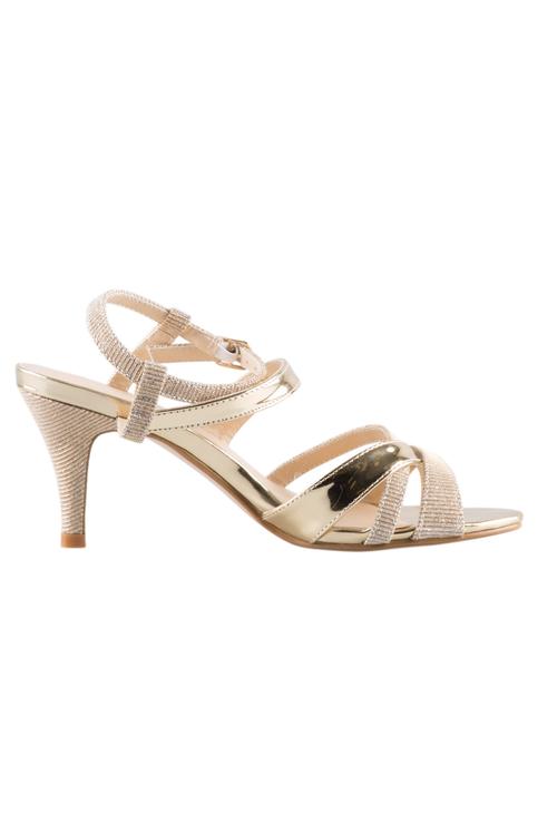 Azealea Glitzy Sandal Heel