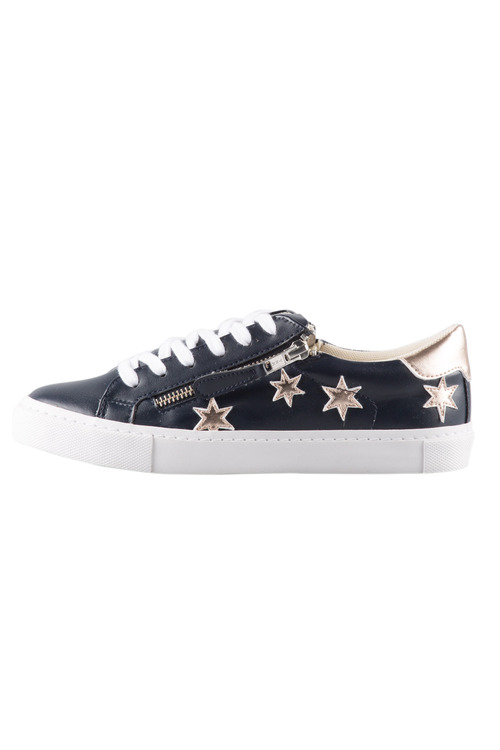Capture Wide Fit Canyon Star Elasticated Zip Sneaker