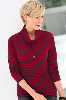 Capture European Striped Pullover