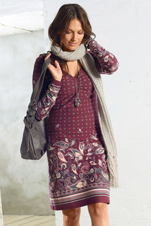 Urban Casual Printed Dress