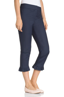 Emerge Ruffle Hem Smart Pant