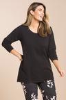 Plus Size - Sara Raised Stitch Jumper