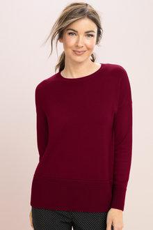 Capture Textured Hem Sweater