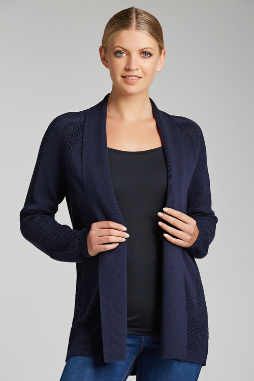 Capture Shawl Collar Cardigan