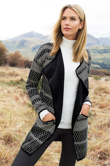 Capture Waterfall Jacquard Jacket