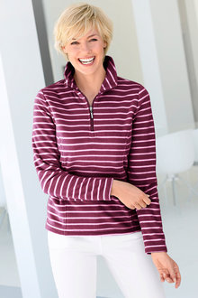 Capture European Fleece Knit Top