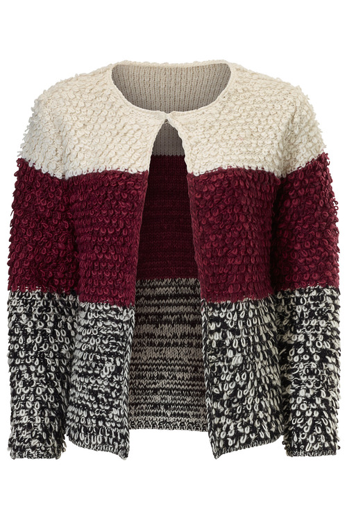 Heine Fluffy Knitted Cardigan