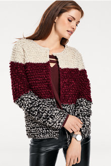 Heine Fluffy Knitted Cardigan - 190129