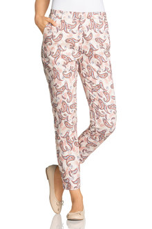 Capture Printed Sateen Pant - 190130