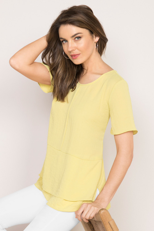 Capture Panelled Top