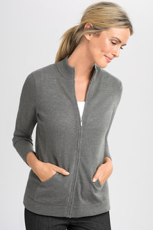Capture Zip Cardigan