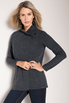 Capture Lambswool Button Cardigan