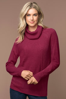 Capture Cowl Neck Sweater