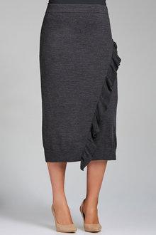 Plus Size - Sara Merino Ruffle Skirt