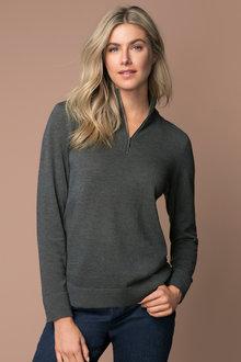 Capture Half Neck Zip Sweater