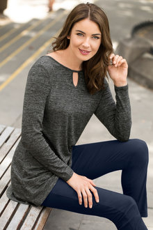 Capture Long Sleeve Knit Top